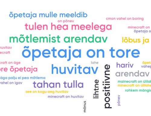 Koolitus huvikooli õpetajatele 26.02 ja 27.02