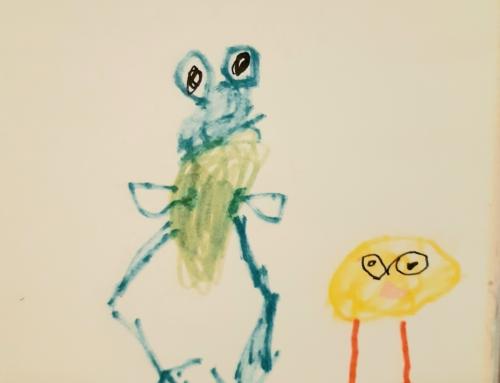 Nõmme huvikoolis 8-aastase Eliisabeti lugemispäevikud